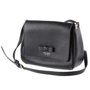 Kate Spade Avva Pershing Street Crossbody Bag BLK